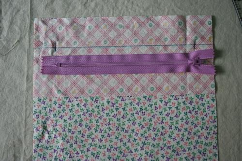 put a zipper in your pillow tutorial 01